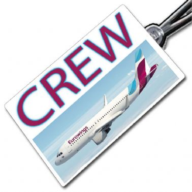 Eurowings A320 Crew Tag